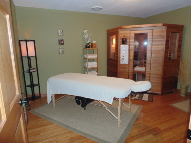 Infrared Heat Sauna - La Ceiba Massage