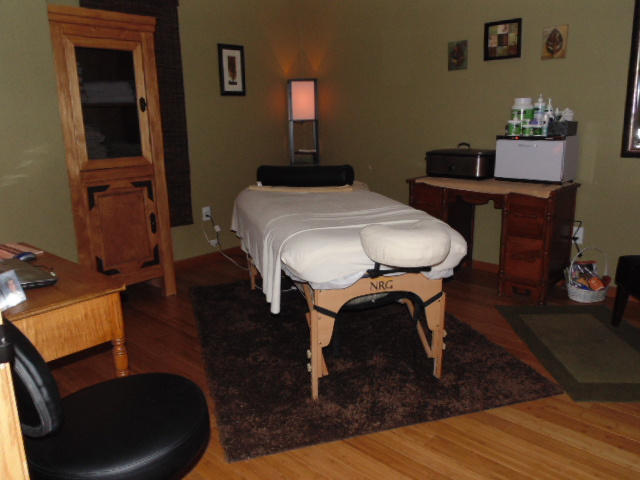 Massage Room - La Ceiba Massage LLC - Sumner, IA